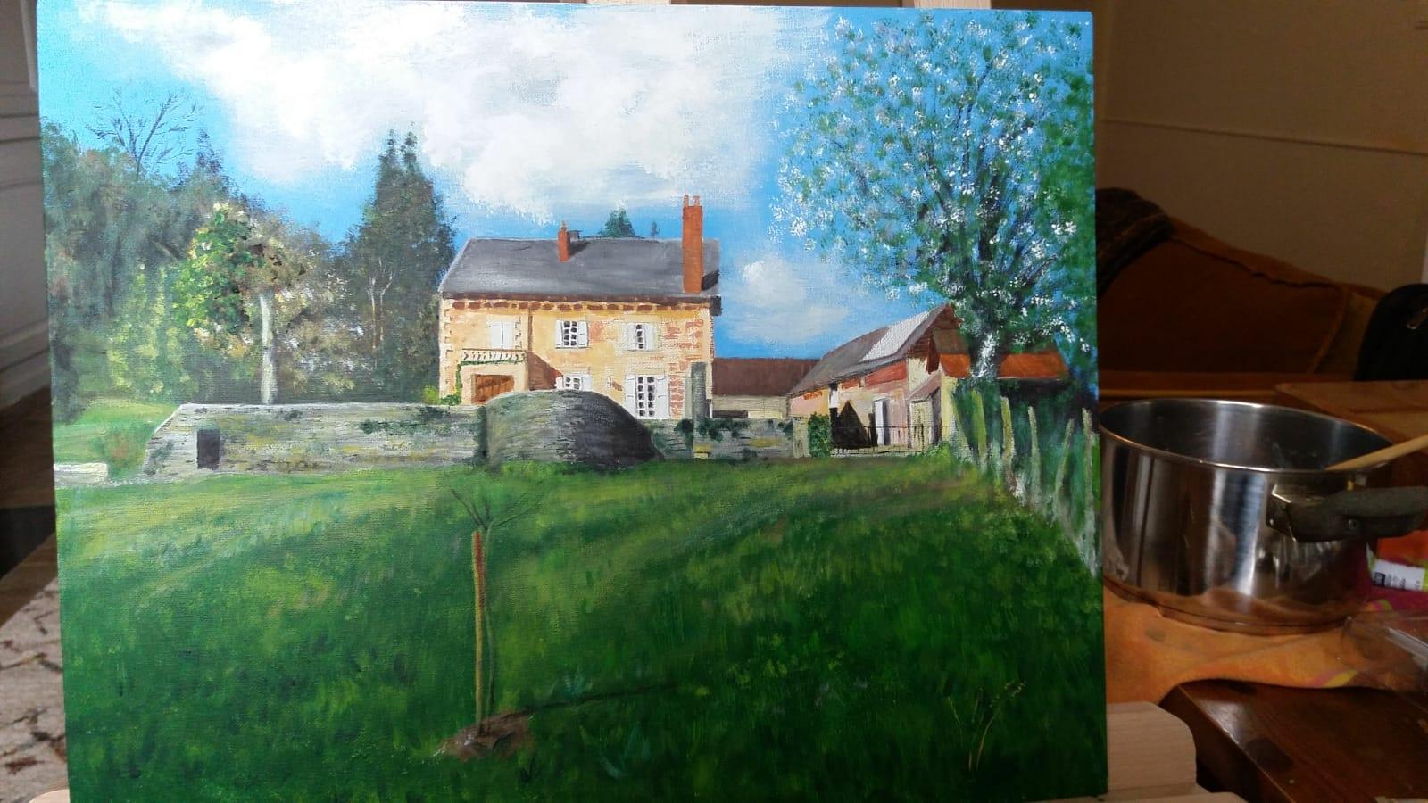 voorjaar in Frankrijk, verkocht